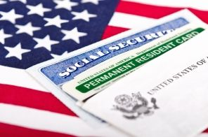 Social Security Card and Green Card
